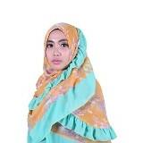 ISKANDAR Bergo Sifon Syar'i [BER-SIFSO] - Orange Tosca - Hijab