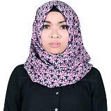 ISKANDAR Segi 4 Jumbo Bunga [COS4-JMB-FLOW-PK] - Hijab