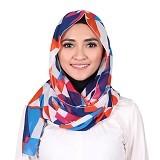 ISKANDAR Shawl Segitiga [CERS3-BU] - Biru - Hijab