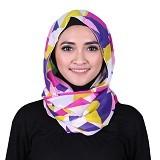 ISKANDAR Shawl Segitiga [CERS3-KNG] - Kuning - Hijab