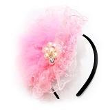 ISTANA KADO ONLINE Bando Anak Bulu Halus Girl Headband - Pink - Topi & Aksesoris Bayi dan Anak