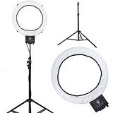 ISTANA KAMERA Ring Lite LED with Dimer + Light Stand (Merchant) - Lighting System Kit
