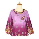 IYESH Atasan [HEMG419A - 419A] - Purple (Merchant) - Blouse dan Tunik Wanita