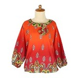 IYESH Atasan [HEMG419A - 419A] - Red (Merchant) - Blouse dan Tunik Wanita