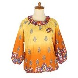 IYESH Atasan [HEMG419A - 419A] - Yellow (Merchant) - Blouse dan Tunik Wanita