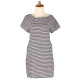 IYESH Dress Stripe [IYBF0010 - 0010] (Merchant) - Midi Dress Wanita