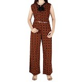 IYESH Jumpsuit [HEMM3498 - 3498] - Brown (Merchant) - Jumpsuit dan Overall Wanita