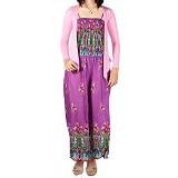IYESH Jumpsuit [HENN1550- 1550] - Purple (Merchant) - Jumpsuit dan Overall Wanita