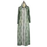 IYESH Maxi Abaya [IYNN5049- 75049] - Green (Merchant) - Gamis Wanita