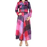 IYESH Maxi Dress [HENN1418 - 11418] - Pink (Merchant) - Maxi Dress Wanita