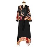 IYESH Maxi [HEDB0836 - 290836] - Black (Merchant) - Maxi Dress Wanita
