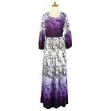 IYESH Maxi [IYMG501B - 501B] - Purple (Merchant) - Gamis Wanita