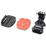 J-HOOK Buckle Flat Mount with 3M for Gopro GP 57 (Merchant) - Camcorder Mounting