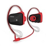 JABEES BSport Stereo Headphones and Earhook - Red (Merchant) - Headset Bluetooth