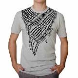 JACKDOW Kaos Distro Motif Sorban Size L [SORBAN] - White - Kaos Pria