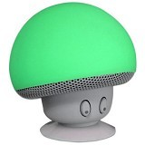 JADDA Portable Small Mushroom Style Mini Bluetooth Speaker - Green (Merchant) - Speaker Bluetooth & Wireless