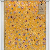 JAGADKU Kain Batik Motif Tulis Madura Original Corak Bunga Kuning Cantik (Merchant) - Setelan Songket Wanita