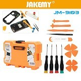 JAKEMY 18 in 1 Smartphone Screw Driver Repair Tools Set [JM-9103] (Merchant) - Obeng Set