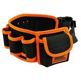 JAKEMY Synthetic Leather Tool Storage Waist Bag with Strap [JM-B04] (Merchant) - Tas Perkakas