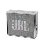 JBL GO Portable Mini Bluetooth Speaker - Silver (Merchant) - Speaker Bluetooth & Wireless