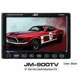 JEC Car LED Monitor [JM-900TV] - Black (Merchant) - Audio Video Mobil