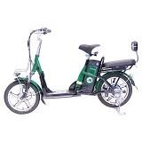 JEFFERYS E-Bike - Green - Sepeda Listrik