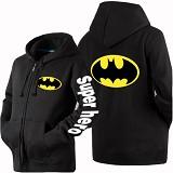 JERSICLOTHING Jaket Hoodie Batman Size L - Black - Jaket Casual Pria