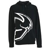 JERSICLOTHING Jaket Hoodie Thor Hitam Size XL - Black - Jaket Casual Pria