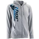 JERSICLOTHING Jaket Hoodie Thor Racing Size XL - Grey - Jaket Casual Pria