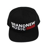 JERSICLOTHING Snapback Brand New Music [1609-snap-12] - Black (Merchant) - Topi Pria
