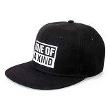 JERSICLOTHING Snapback One of A Kind [1609-snap-42] - Black (Merchant) - Topi Pria