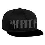 JERSICLOTHING Snapback Paparoach [1609-snap-28] - Black (Merchant) - Topi Pria