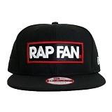 JERSICLOTHING Snapback Rap Fan [1609-snap-30] - Black (Merchant) - Topi Pria