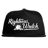 JERSICLOTHING Snapback Righteous Wretch [1609-snap-43] - Black (Merchant) - Topi Pria