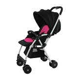 JETTE Jimmy Stroller [JE-MY101-P] - Black Pink - Stroller / Kereta Dorong Bayi
