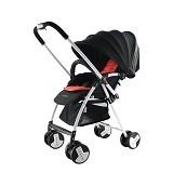 JETTE Jimmy Stroller [JE-MY101-R] - Black Red - Stroller / Kereta Dorong Bayi