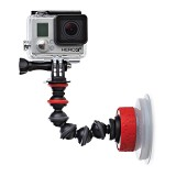 JOBY Suction Cup and Gorillapod Arm - Tripod Mini and Tabletop