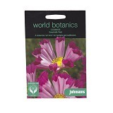 JOHNSONS SEED Cosmos Seashells Red - Bibit / Benih Tanaman Hias