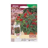 JOHNSONS SEED Pepper (Hot) Prairie Fire - Bibit / Benih Sayuran