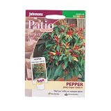 JOHNSONS SEED Pepper (Hot) Super Chili F1 - Bibit / Benih Sayuran