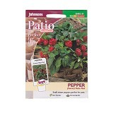 JOHNSONS SEED Pepper (Sweet) Patio Red - Bibit / Benih Sayuran