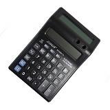 JOINUS Dual LCD Screen Calculator 12 Digits [KK-8585-12] (Merchant) - Kalkulator Office / Pocket