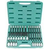 "JONNESWAY 1/2"" Dr. Hex Socket Bits Set 30Pcs [S09H4930S]"