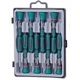 JONNESWAY 8Pcs Precision Screwdriver Set L:50mm [D3750P08S] - Obeng Set