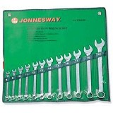 JONNESWAY Combination Wrench Set SAE 14Pcs [W26414S]