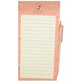 JOYTOP Magnetic Shopping List Memo [5348] - Peach (V) - Buku Catatan / Journal