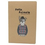 JOYTOP Notebook Hello Animals 21cm [5362] - Dog (V) - Buku Catatan / Journal