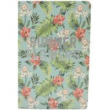 JOYTOP Notebook Summer Flowers [5349] - Green (V) - Buku Catatan / Journal