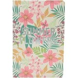 JOYTOP Notebook Summer Flowers [5349] - Pink (V) - Buku Catatan / Journal