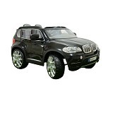 JUNIOR Child Mobil Aki BMW [X5 W-498] - Black (Merchant) - Ride On and Tricycles